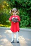 Baby fashion with handbag Royalty Free Stock Photo