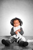 Baby fashion Royalty Free Stock Photography