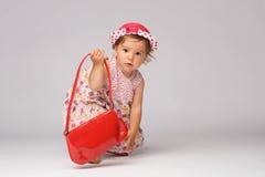 Baby Fashion Model Posing Stock Photos