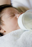 Baby feeding Royalty Free Stock Photography