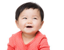 Baby feel so happy Royalty Free Stock Images