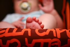 Baby feet Royalty Free Stock Photos