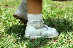 baby feet. Obrazy Stock