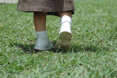 baby feet. Fotografia Royalty Free