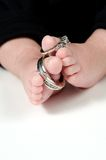 Baby feet Stock Image