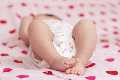 Baby feet Royalty Free Stock Photos