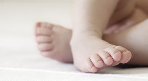 baby feet Zdjęcie Royalty Free