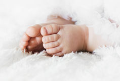 baby feet Fotografia Royalty Free