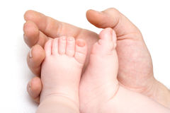 Baby feets Royalty Free Stock Photos