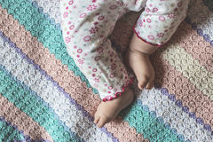 Baby feets Royalty Free Stock Images