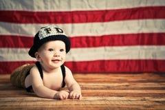 Baby-Feuerwehrmann Lizenzfreie Stockbilder