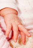 Baby fingers Stock Photo