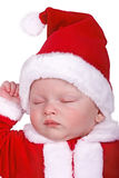 Baby first Christmas Stock Image