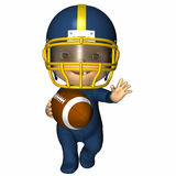 Baby - First Football Royalty Free Stock Photo