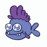 Baby fish for t-shirt design collection Royalty Free Stock Image