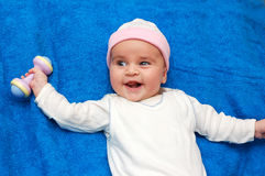 Baby fitness Royalty Free Stock Photo