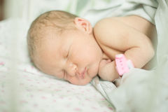 Baby five days old Royalty Free Stock Images