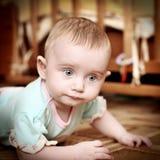 Baby on the Floor Stock Photos
