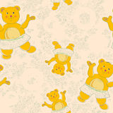 Baby floral pattern Royalty Free Stock Photo