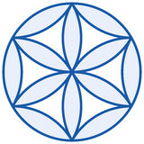 Baby Flower of Life Stock Image