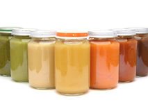 Baby food Royalty Free Stock Photography