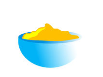 Baby food bowl Royalty Free Stock Images