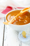 Baby food in bowl Stock Photos