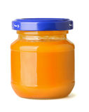 Baby food jar Stock Photography
