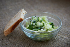 Chinese cabbage salad with parsley  Stock Photos
