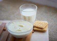 Milk soup Stock Photos