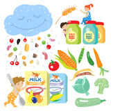 Baby food. Stock Images