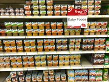 Baby foods Stock Photo