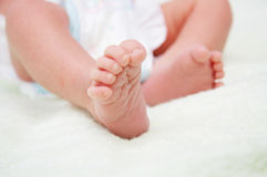 Baby foot Stock Photo
