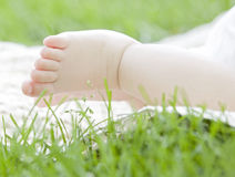 A baby foot Royalty Free Stock Photo
