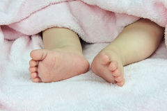 Baby foot Stock Image