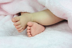 Baby foot Royalty Free Stock Photo