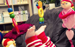 Baby foot Stock Photos