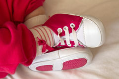 Baby foot royalty free stock photo