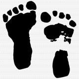 Baby Footprints Illustration Royalty Free Stock Photo