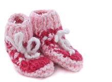 Baby footwear Stock Photo