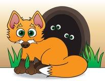 Baby Fox Lizenzfreies Stockfoto