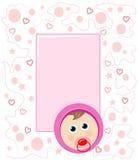 Baby frame stock image