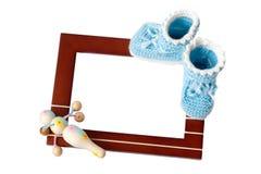 Baby frame Stock Photos