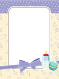 Baby frame Stock Images
