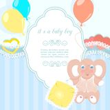 Baby frame Royalty Free Stock Image