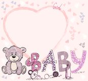 Baby Frame Royalty Free Stock Photos