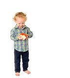 Baby with Fruit Royalty Free Stock Photo