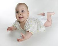 Baby fullbody Stock Image