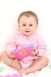 Baby fun royalty free stock photo