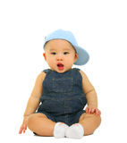 Baby With Funny Expression Stock Photography